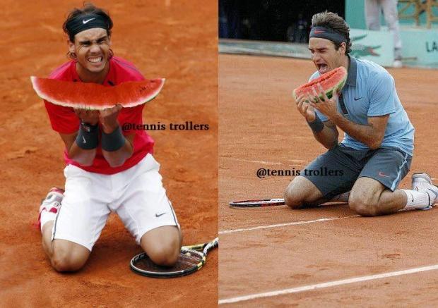 Теннис прикол фото